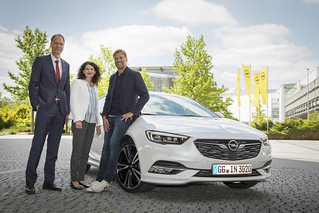Opel-Markenbotschafter Jürgen Klopp in Rüsselsheim