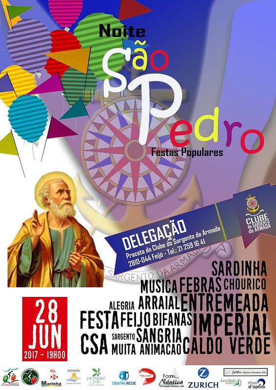 Cartaz São Pedro 2017