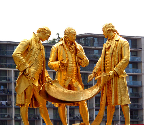 Centenary Square 24 -Boulton, Watt, Murdoch statues | by worldtravelimages.net
