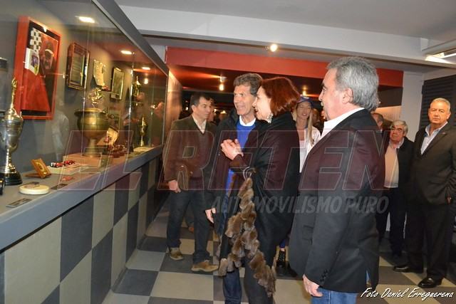 Inauguración Espacio Froilán en el Museo Fangio.