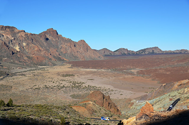 Southern side of Teide National Park, Tenerife