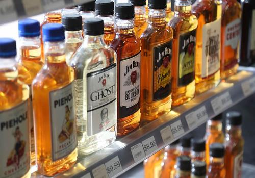 Spirits in a liquor store near me