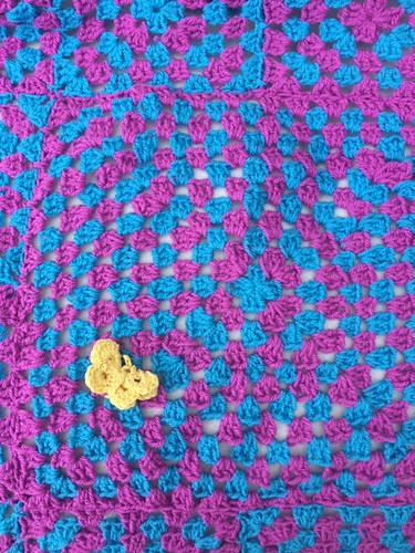 Bright and Cheerful made and donated by Rachel. Thank you.