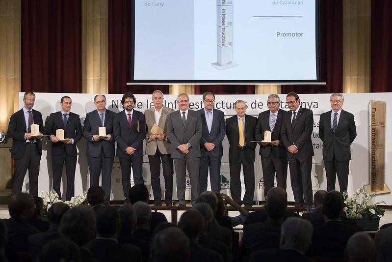 FGC guanya la primera edició del  Premi a la millor Infraestructura de 2016 per la perllongació del metro del Vallès a Sabadell
