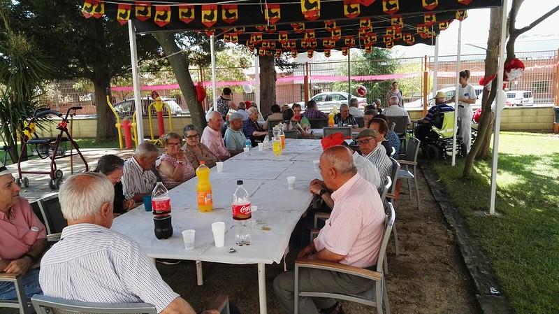La residencia patronato de ancianos celebra hoy su tradicional Fiesta Sanjuanera