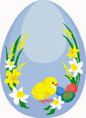 Preview of Cross Stitch Patterns: Easter Egg