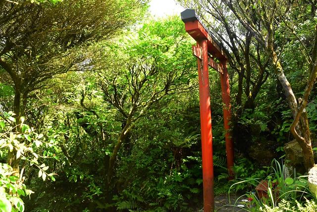 開聞岳山頂 御岳神社の鳥居
