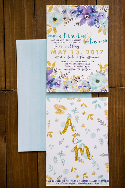 Wedding Invitation | cookingalamel.com