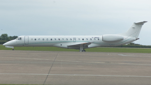 F-HRAV - Aerocutter e145 @ Cardiff