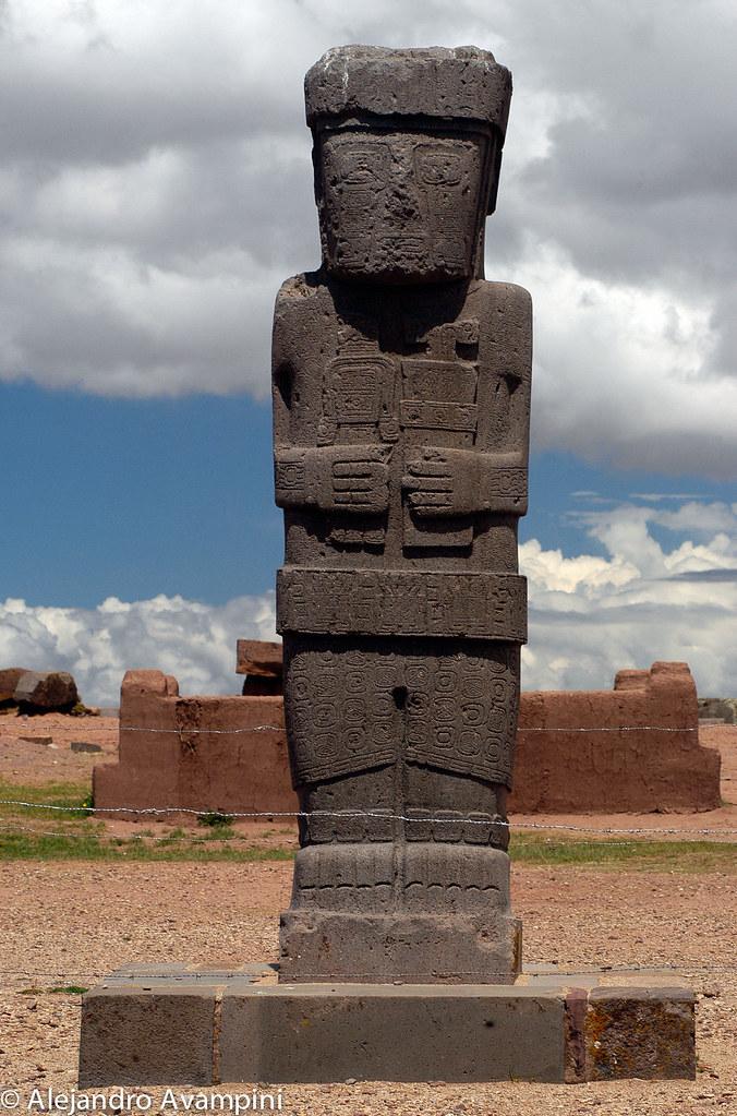 Tiahuanaco- vestigios de su cultura