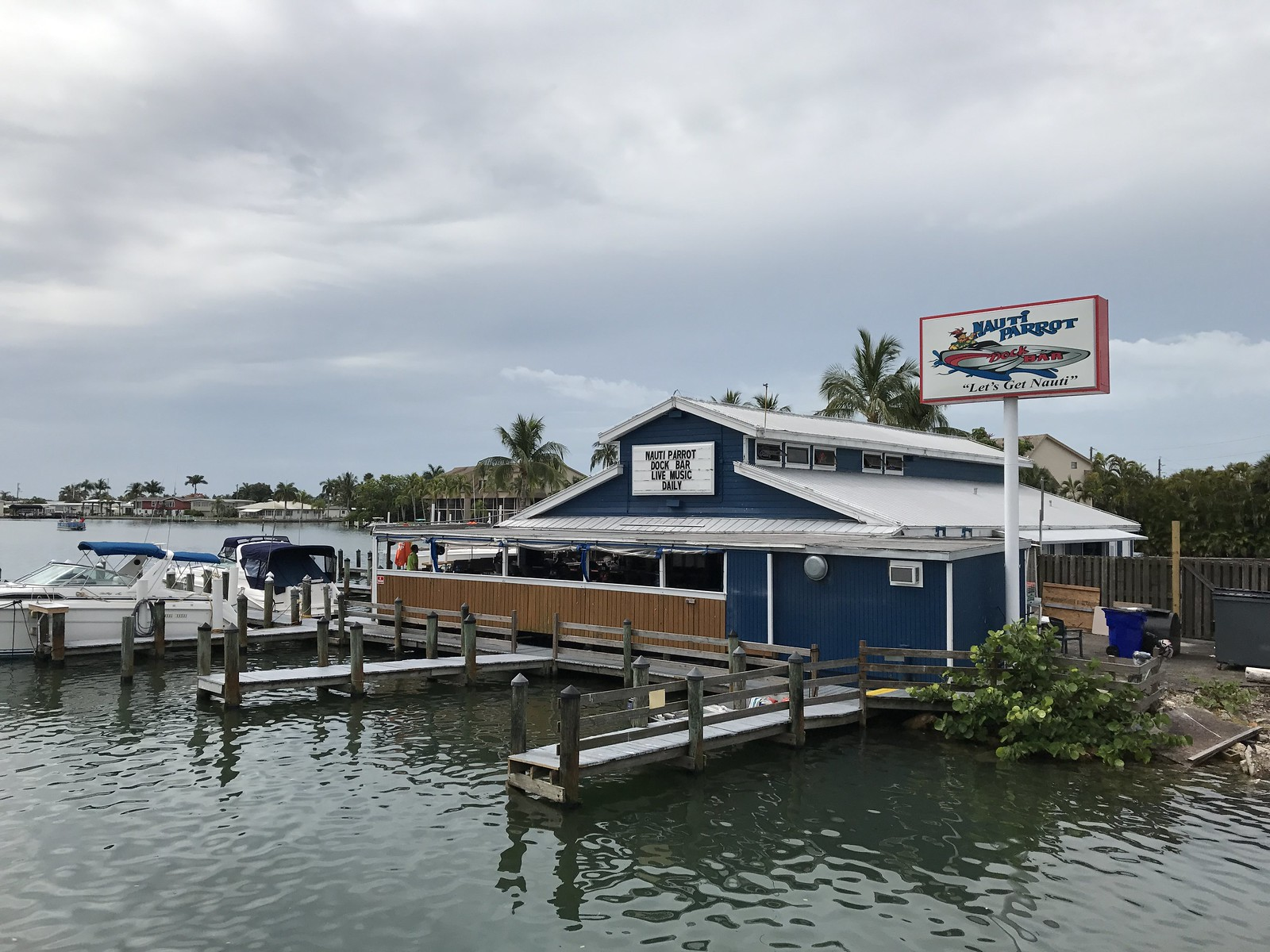 Nauti Parrot Dock Bar, Fort Myers Beach, Fla.