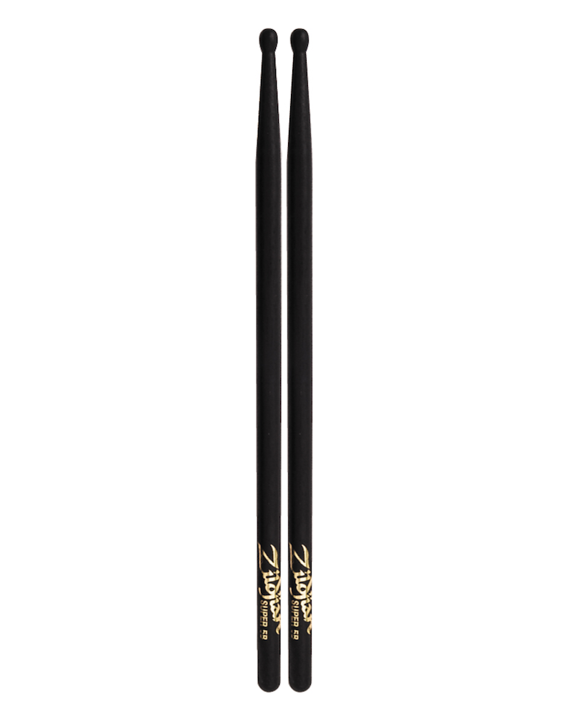 Zildjian Super 5B Black Drumsticks