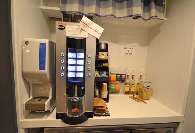 the dorm hostel osaka coffee tea pantry