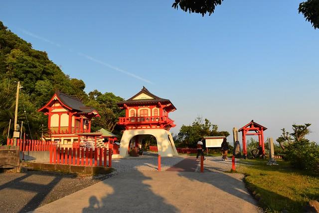 長崎鼻 竜宮神社