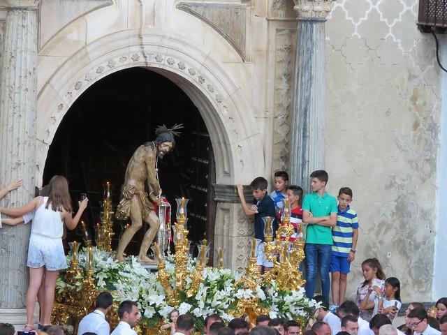 PROCESIÓN DE LAS FIESTAS COLUMNARIAS.PRIEGO DE CÓRDOBA