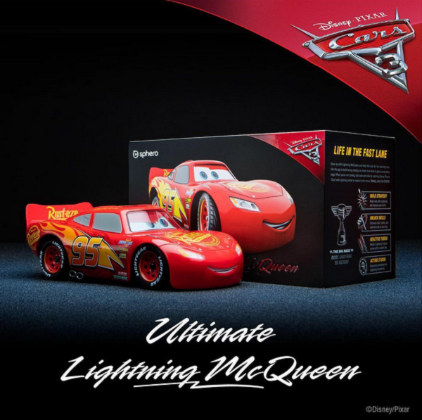 【6・23日本上陸!】Sphero「Ultimate Lightning McQueen」