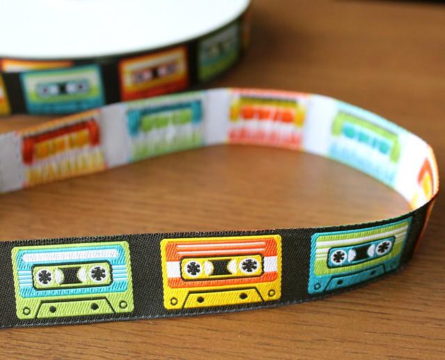 Renaissance Ribbons Novelty Vintage Cassette Tapes