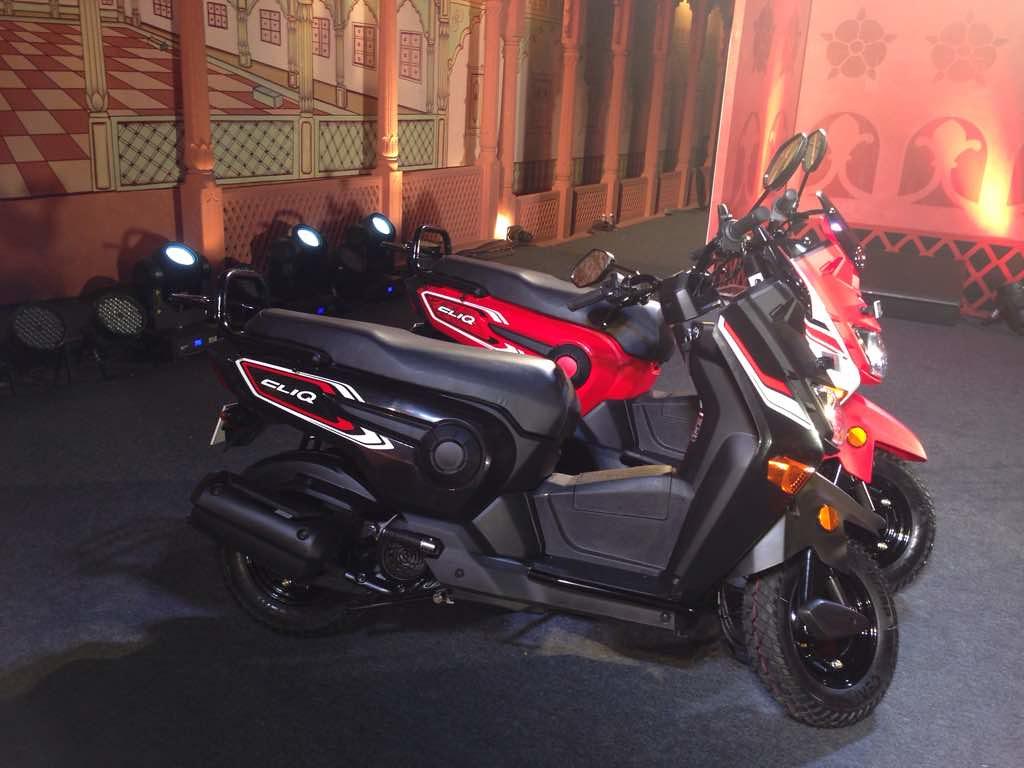 Honda Cliq colors
