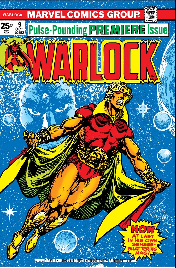 Warlock 9 cover Jim Starlin and Weiss