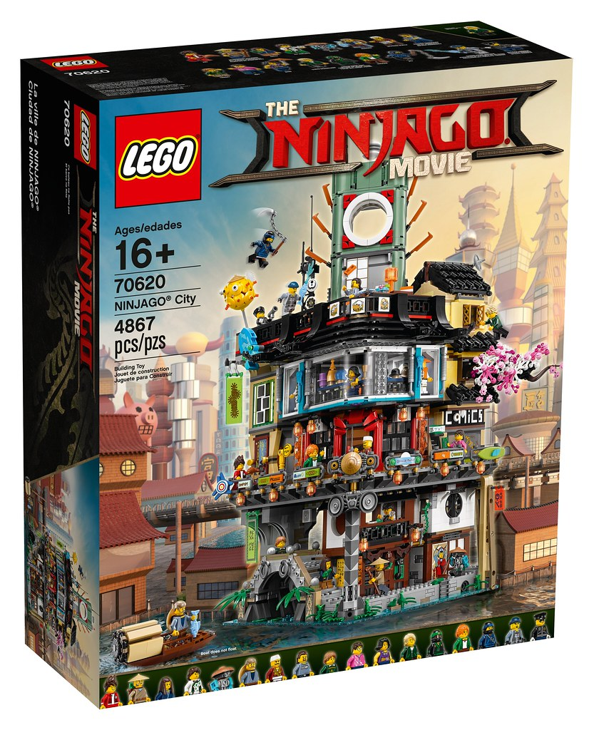 The LEGO Ninjago Movie - 70620 Ninjago City