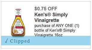 Ken's Simply Vinagarette Dressing