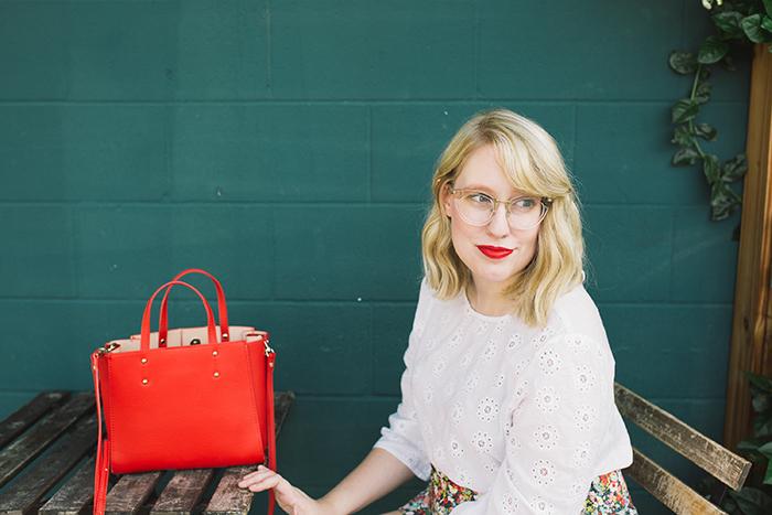 austin style blogger writes like a girl floral jcrew tie waist shorts4
