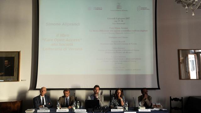 Fare Open Access alla Società Letteraria (Verona, 08/06/17)