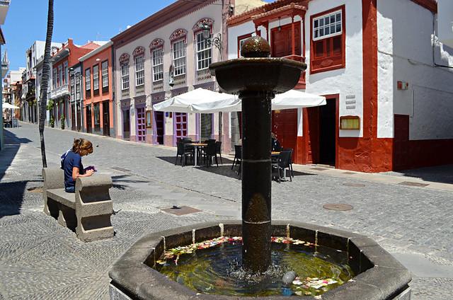 Main street, Santa Cruz de la Palma, La Palma