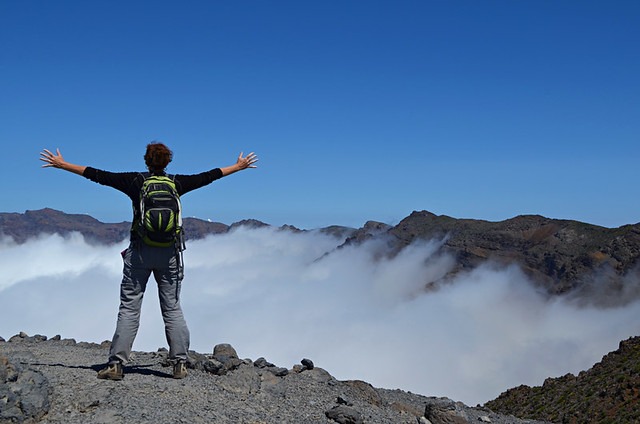 On top of La Palma