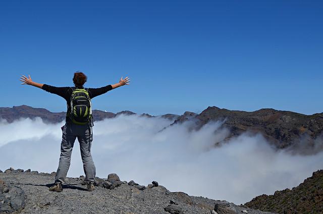 On top of La Palma