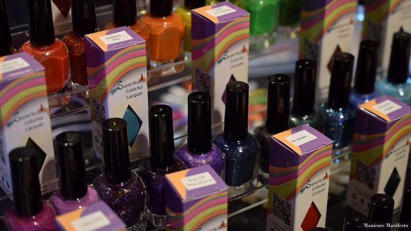 Superficially Colorful polish