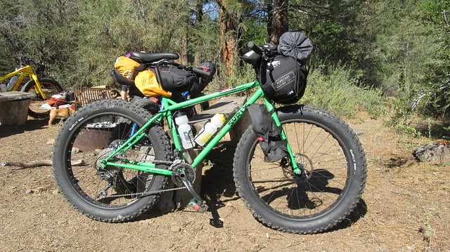 Bikepacking the Bizz Johnson Trail