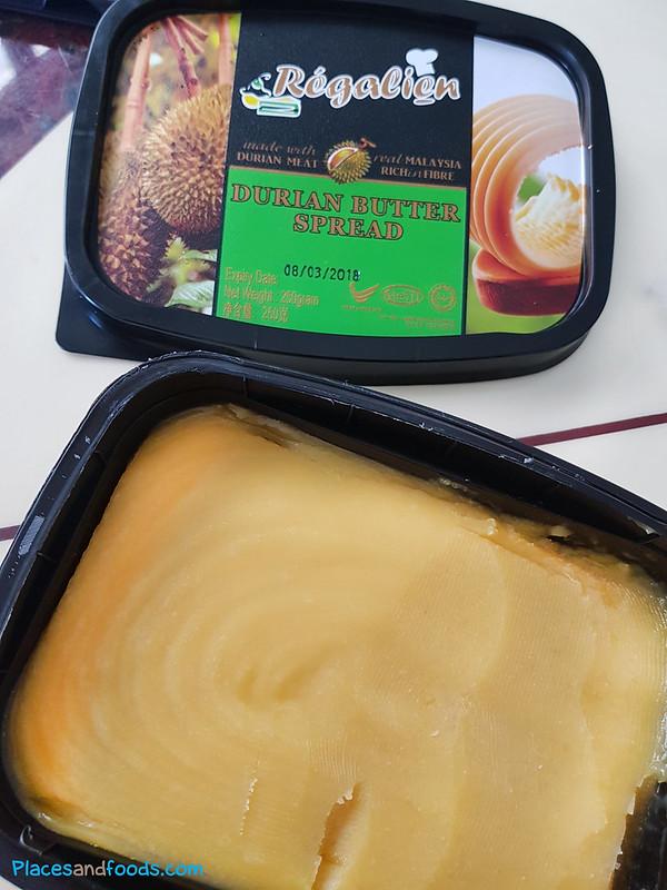 durian butter spread regalien