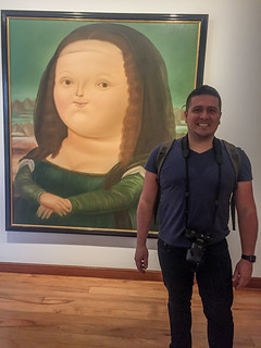Museo Botero Mona Lisa