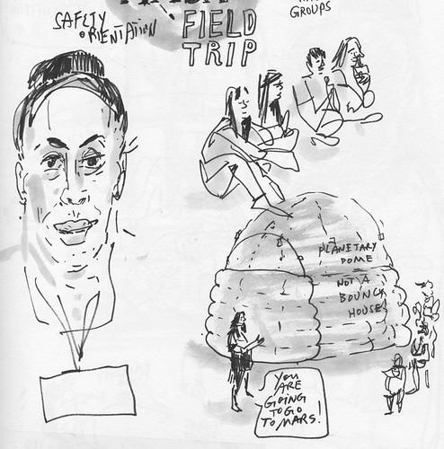 Sketchbook #104: School Filed Trip