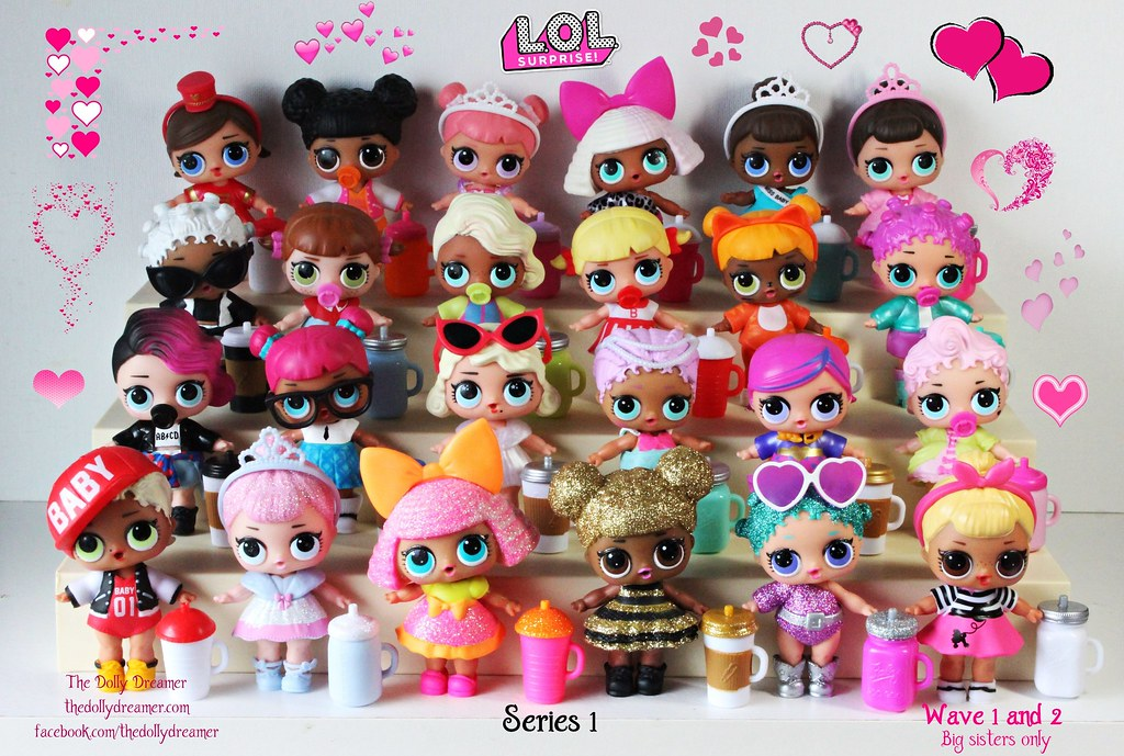 LOL Surprise Dolls Series 1 I finished collecting Series
