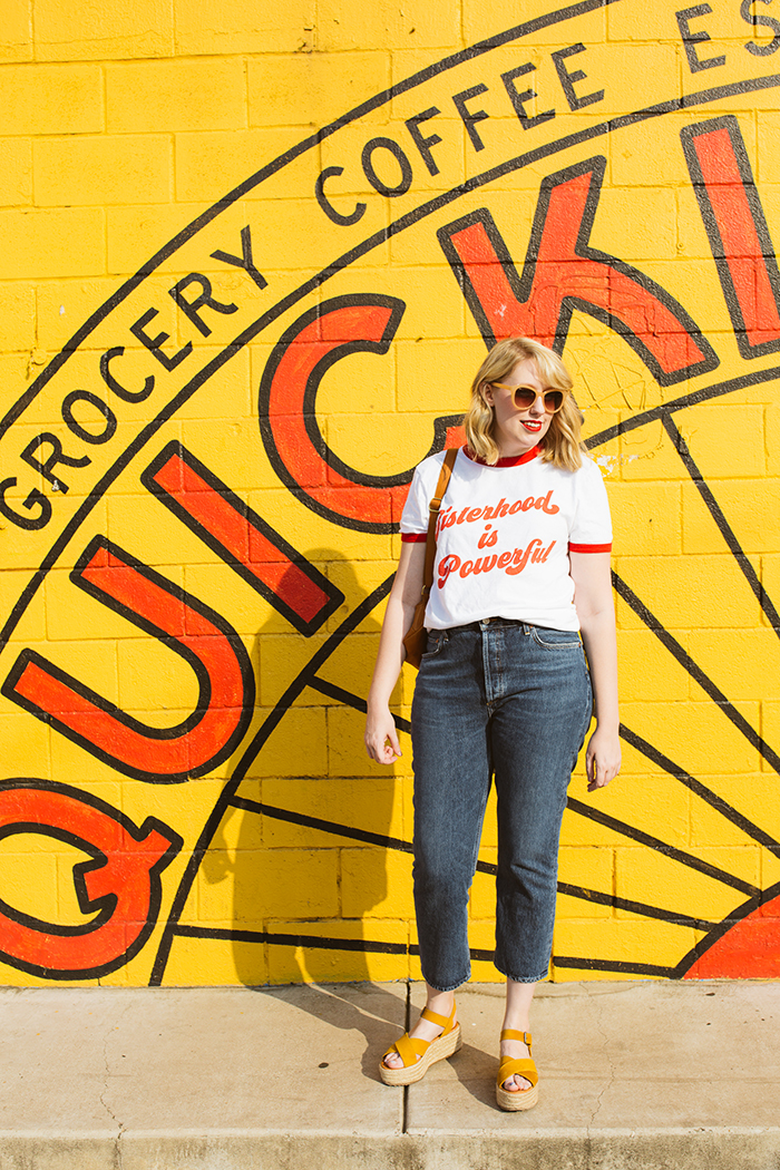 austin fashion blogger writes like a girl luella sisterhood shirt24