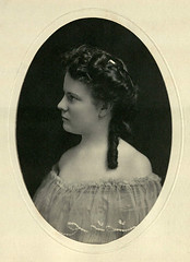 Photograph of Hallie Earle, undated