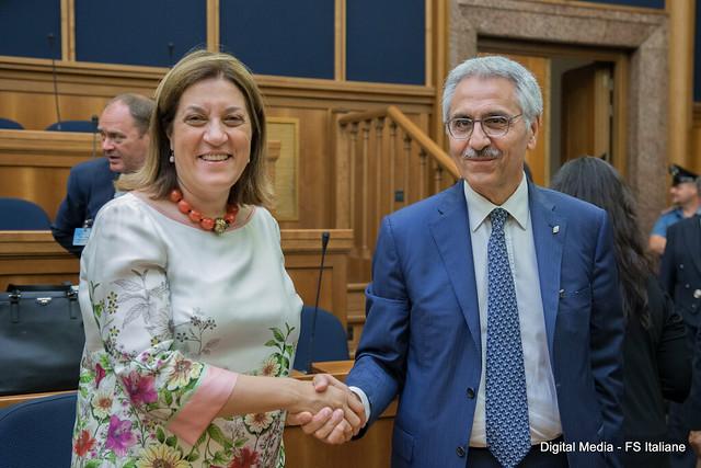 Firma accordo RFI e Regione Umbria per il potenziamento della rete regionale