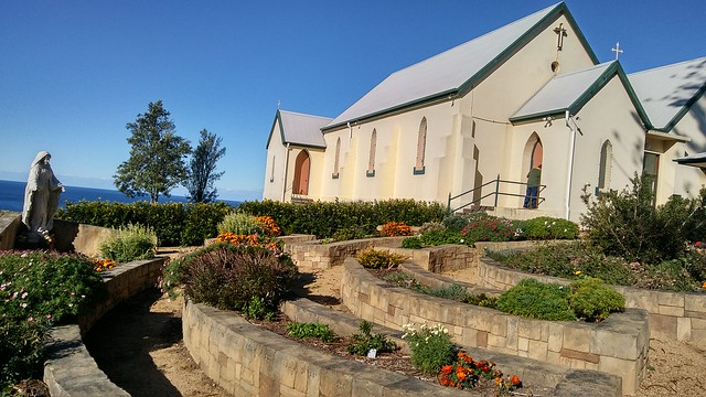 Memorial Garden at St Marys Star of the Sea Gerringong