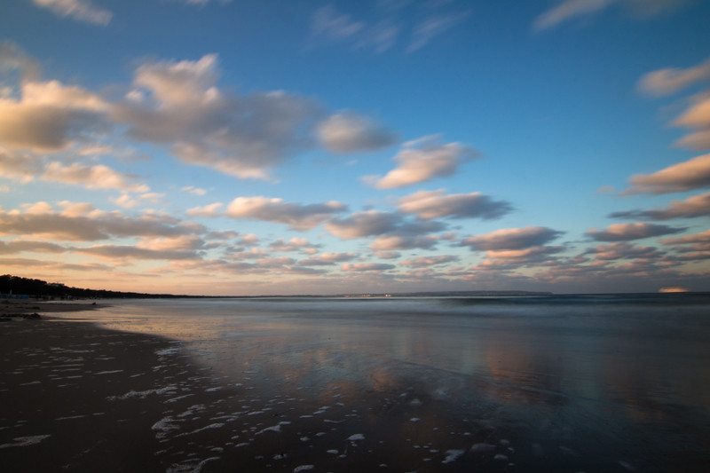 Kurztrip Binz Ostsee Sonnenuntergang am Strand