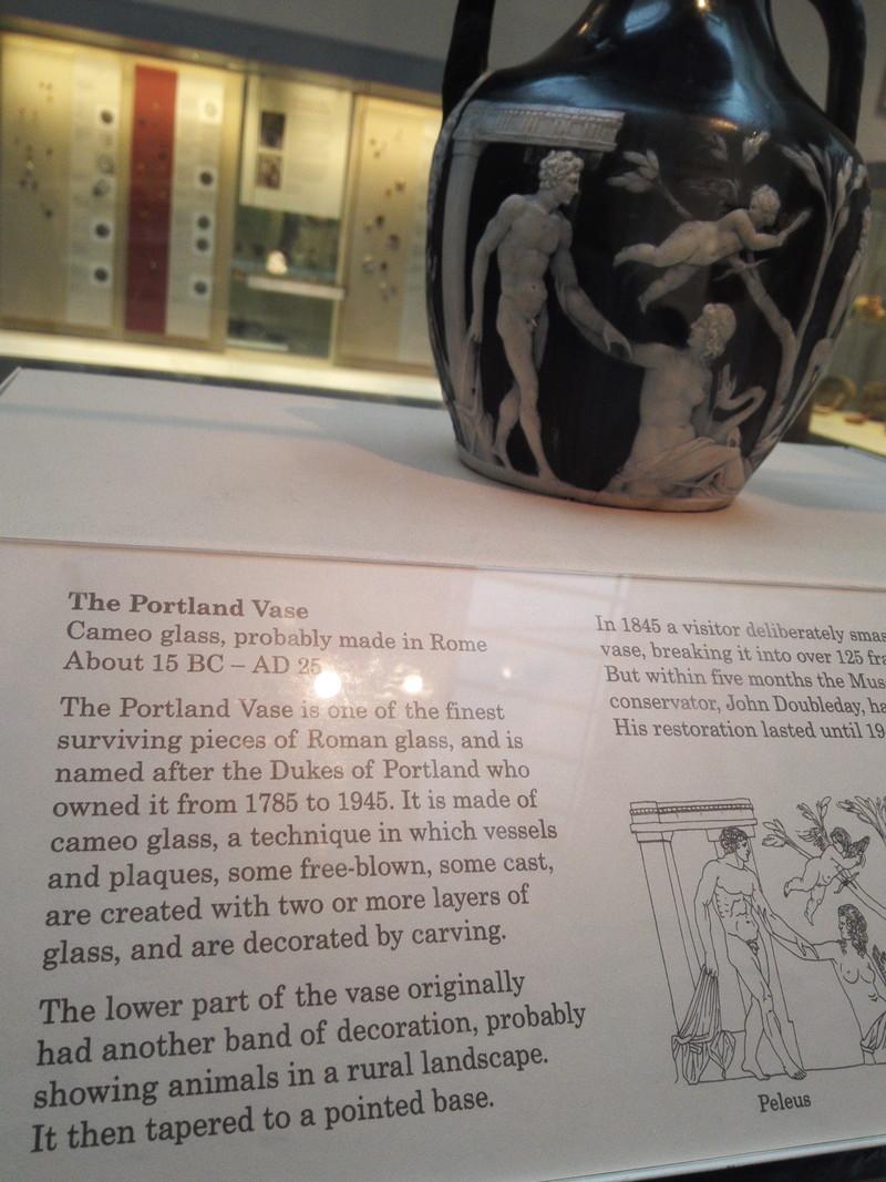 The Portland Vase British Museum ボートランドの壷 大英博物館 ウェッジウッドミュージアム