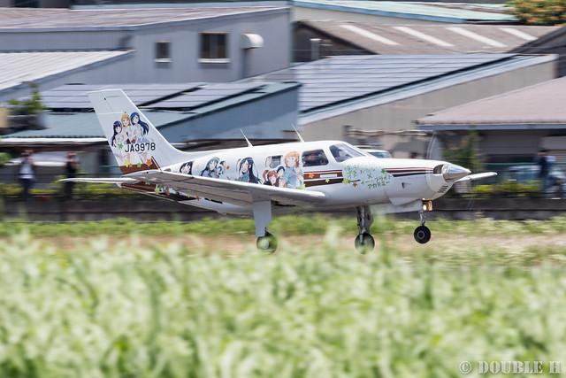痛飛行機 - Anime wrapping airplane in RJOY 2017.6.4 (20)