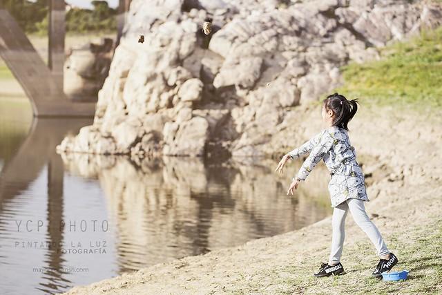 Tirar piedras al río