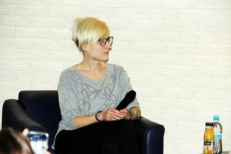 Katarzyna Puzyńska w Książnicy Polskiej