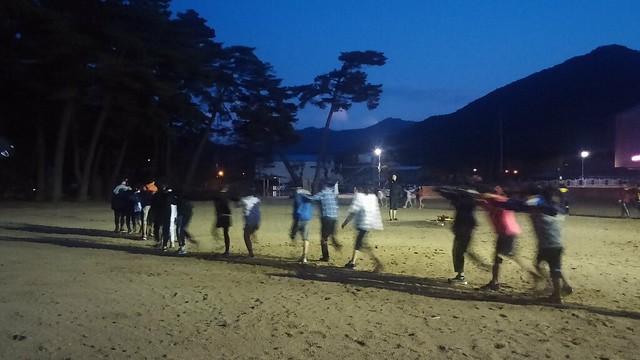 상주지역 4개 초등학교 공동 수련활동