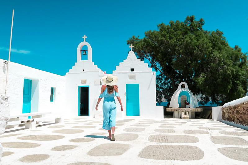 Wanderlust Us Travel Blog - Mykonos - Kiki's Tavern Agios Sostis