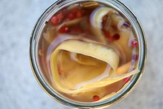 Kohlrabischalen Pickels