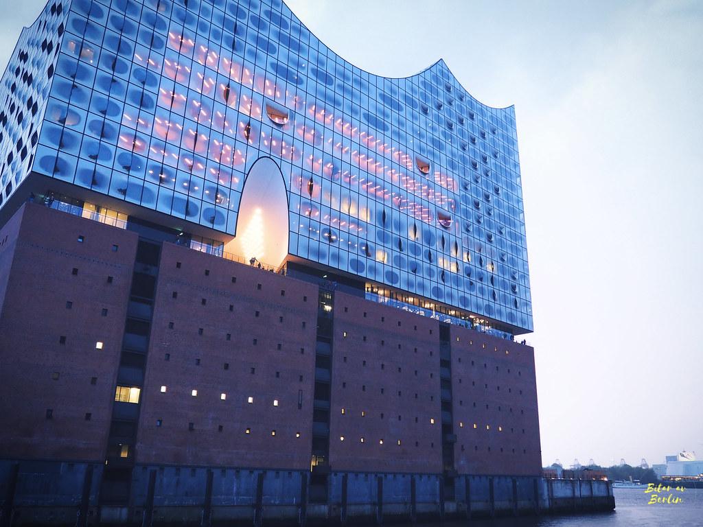 Helg i Hamburg
