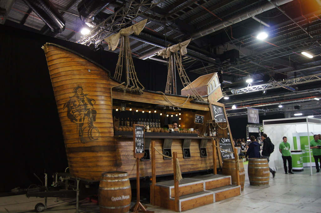 Eat & Drink Festival - rum ship